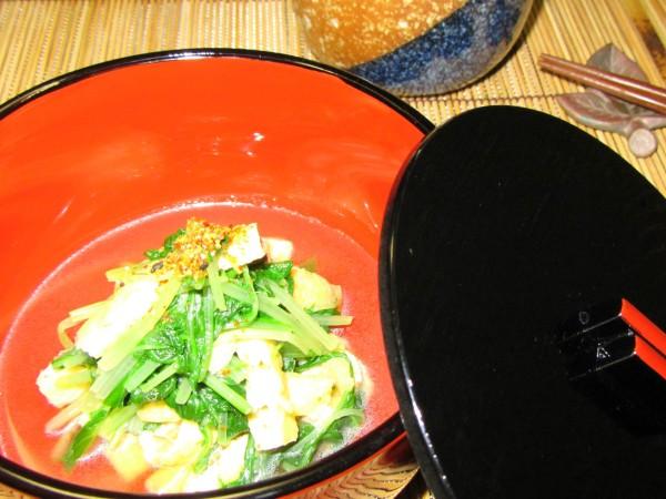 水菜揚げ煮