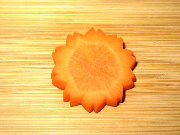 八重桜飾り切り