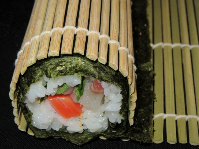 巻き寿司,巻き方,すし