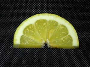 レモン,飾り切り