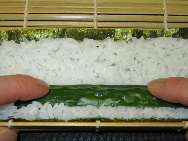 すし,細巻き寿司の作り方