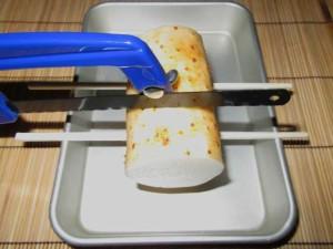 長芋,割れない,切り方
