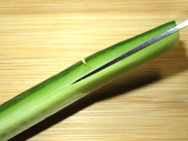 竹,胡瓜,飾り切り,たけきゅうり