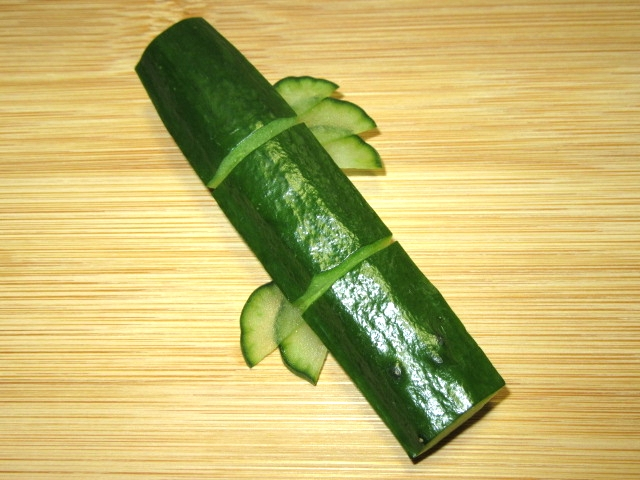 竹胡瓜,飾り切り,たけきゅうり