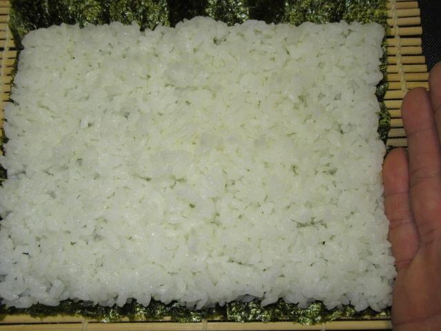 寿司飯,ご飯,酢飯広げ方,すし