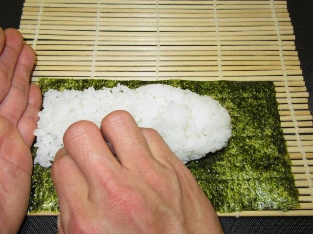 細巻き寿司の作り方