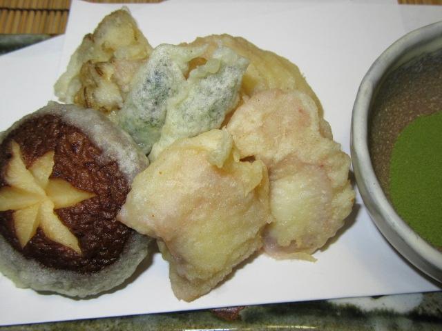 蛸の天ぷらの作り方手順,夏の揚げ物の献立