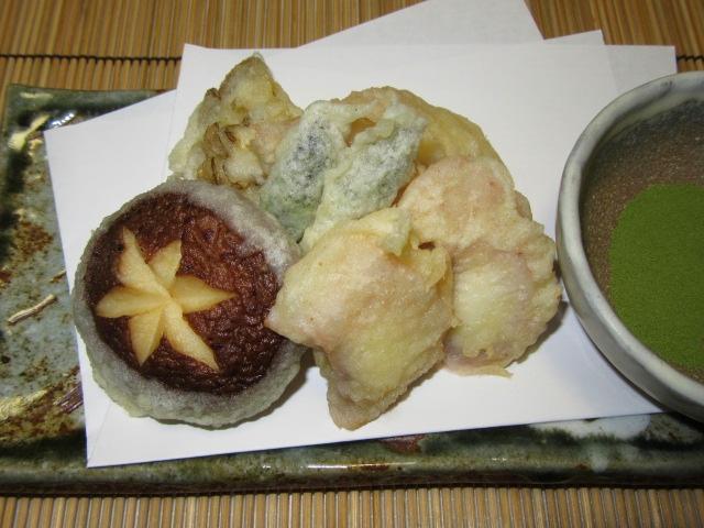 蛸の天ぷらの作り方,夏の揚げ物の献立