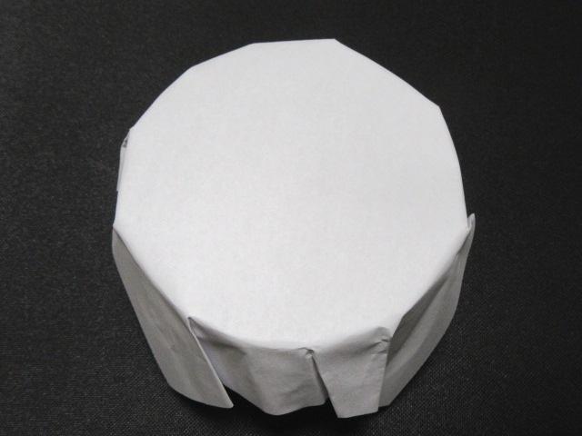 器のふた,紙蓋