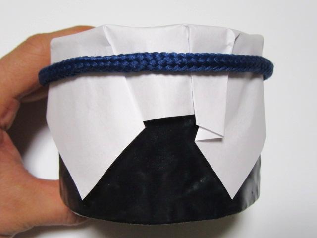 紙蓋と小鉢の盛りつけ例