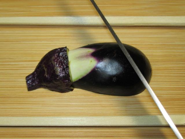 小なす,切り方,天ぷら,飾り包丁7img_5206