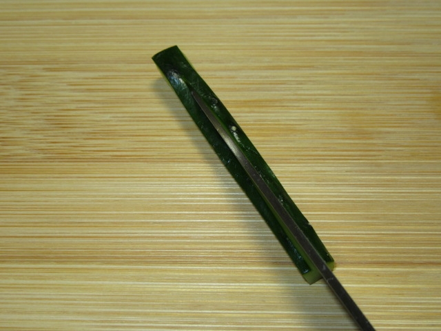 松葉,まつば,胡瓜,きゅうり,飾り切り5img_5348