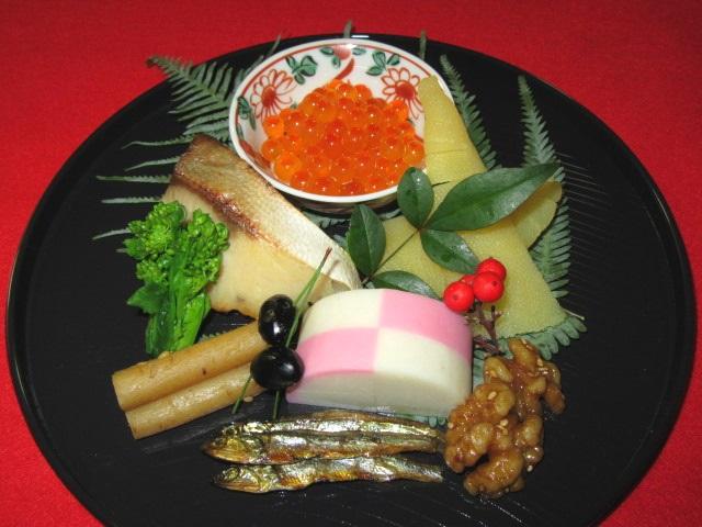 正月の八寸,前菜盛り合わせ,祝い料理