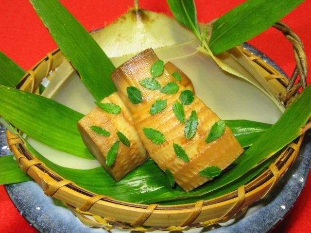 筍の木の芽焼き,たけのこ山椒焼きの作り方と盛りつけ