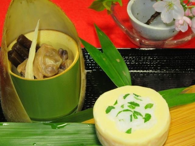 たけのこの木の芽寿司,春の料理と献立