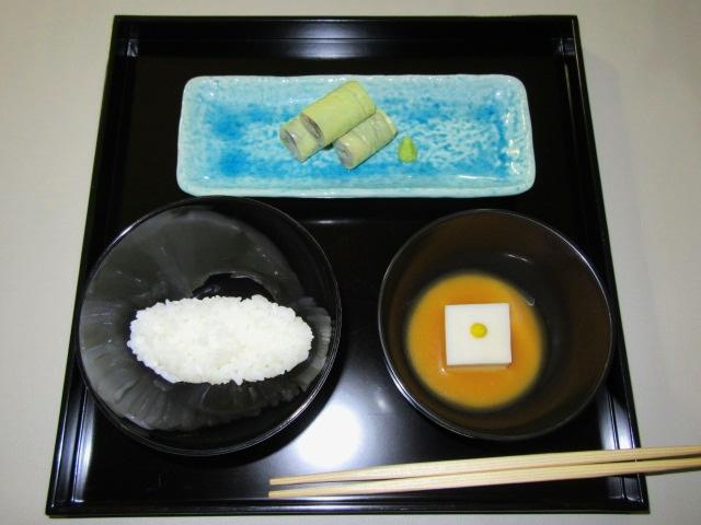 茶懐石料理の膳,おしき,折敷