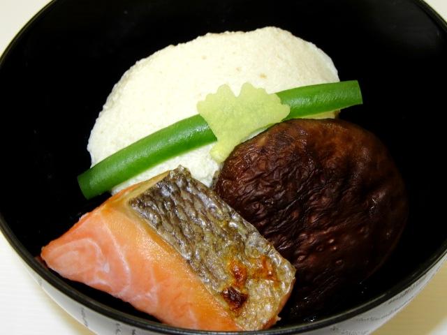秋鮭の白子豆腐すまし汁仕立て椀,吸い物献立