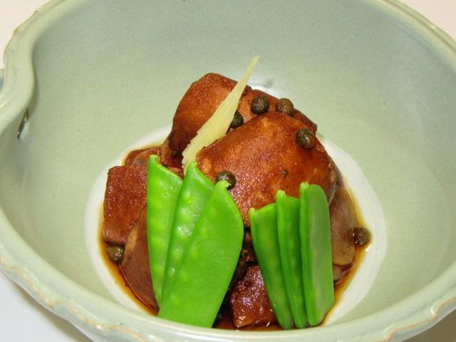 秋鮭の白子山椒煮,さけのしらこさんしょう煮