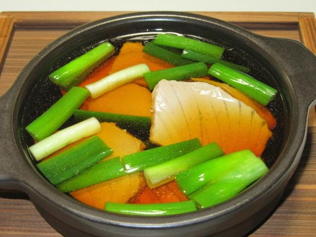 ねぎとまぐろの鍋物料理,ねぎま鍋