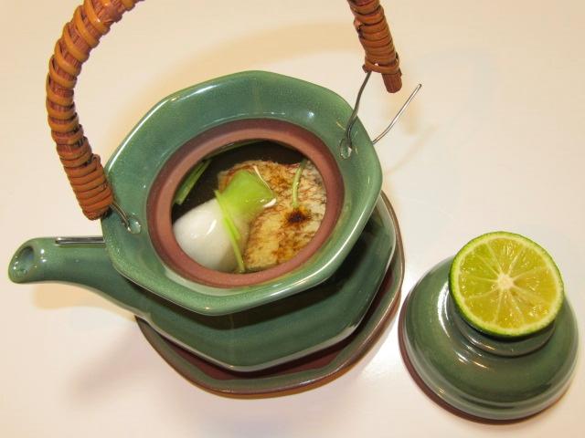 焼き鯛とかぶの土瓶蒸しの作り方,吸い物の献立
