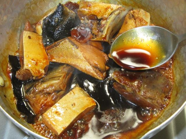 ぶり大根煮のぶりを煮る方法