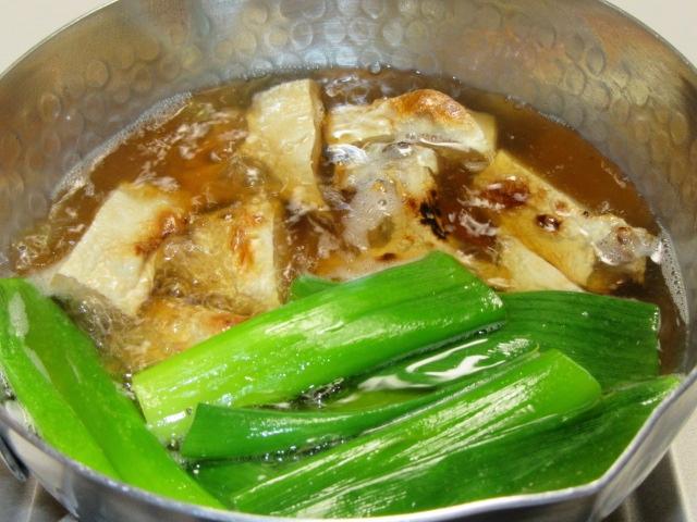 ぶりかまのなんばに,冬の煮物の献立焼き鰤の難波煮手順