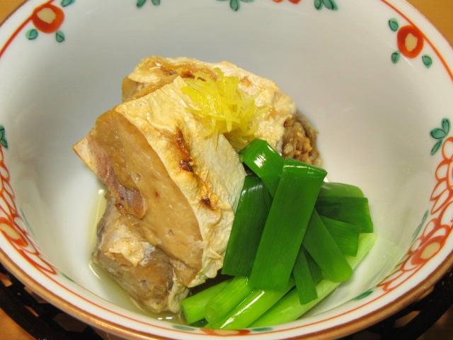 ぶりかまのなんばに,冬の煮物の献立焼き鰤難波煮