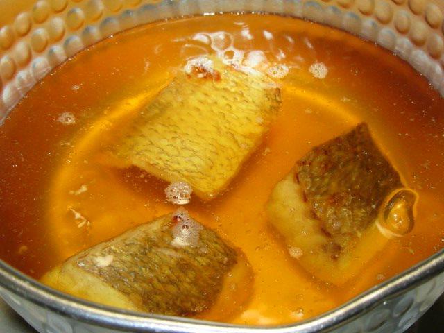 焼き鯛の八方煮の作り方