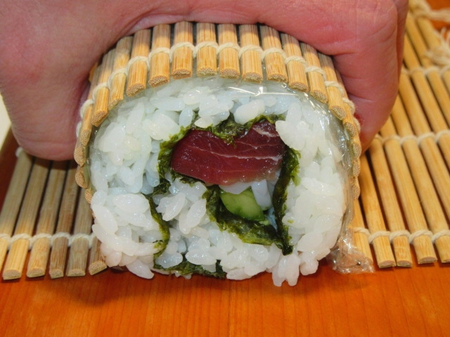 巻き 方 寿司 巻き