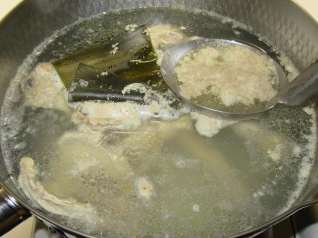 吸い物用の鶏だし,澄ましたとりスープの作り方