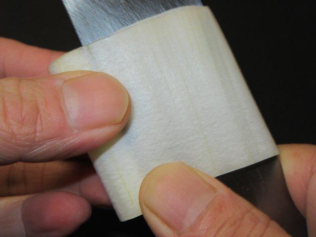 よりうどの切り方手順,桂むきの工程,刺身や酢の物の飾り切り