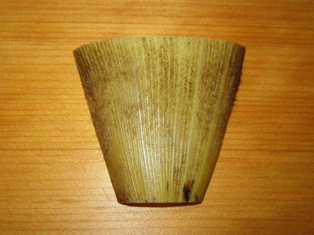 筍の器の飾り切り,宝船の帆の作り方と春の献立