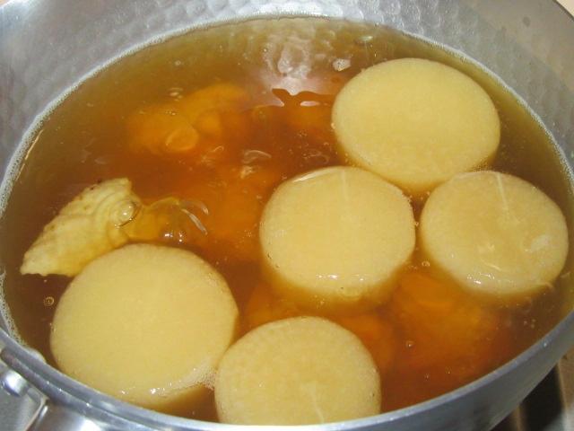 鶏大根鍋の作り方
