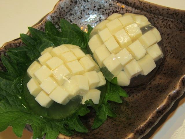 あじさい豆腐の作り方,夏の前菜,6月の八寸の献立