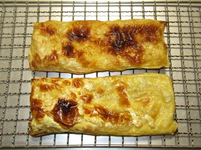 生湯葉を折りたたんで焼いた写真,湯葉の煮物の作り方