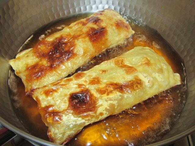 焼き目湯葉の煮物の作り方手順