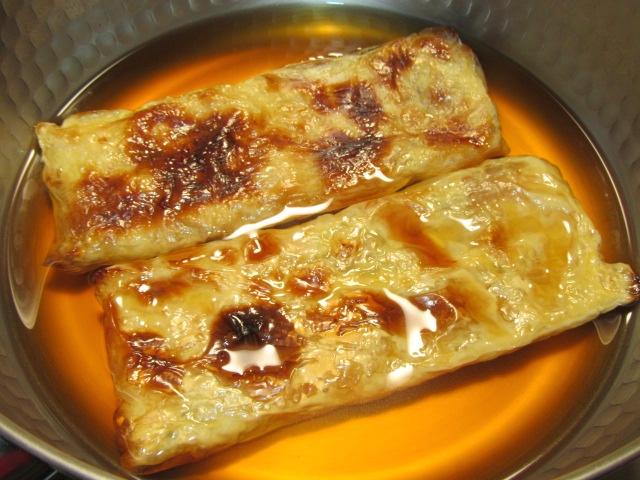 焼き目湯葉の煮物の作り方,煮汁の黄金比