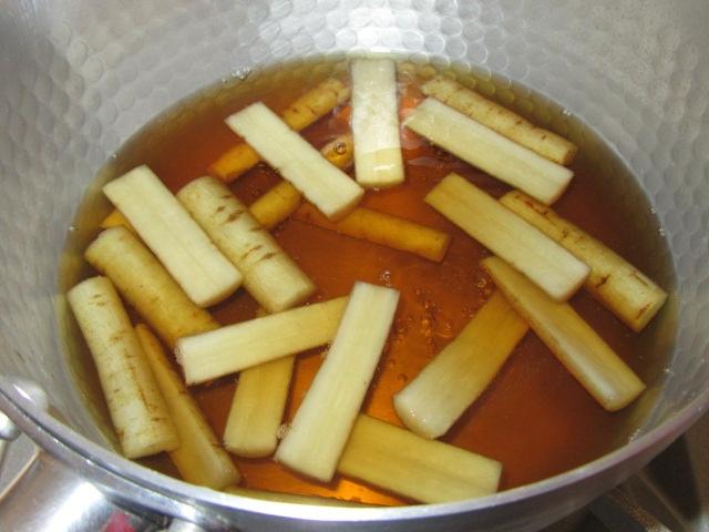 ごぼうの煮物の作り方