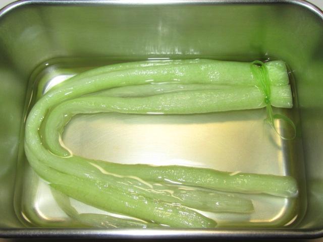 蓮芋の味つけ工程,漬け地の方法