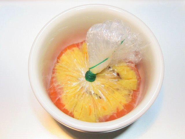 鮭の玉子けんちん蒸しの作り方