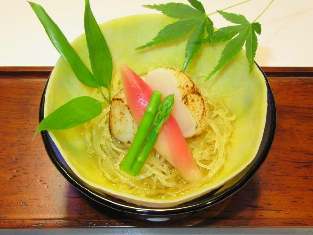 素麺南瓜の酢の物