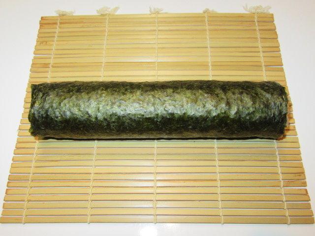 炊き込み御飯のおこげの海苔巻き