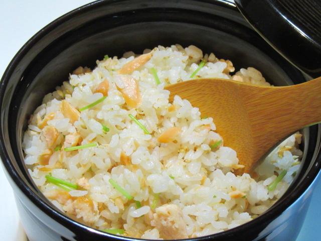 鮭の混ぜご飯,秋のご飯物の献立