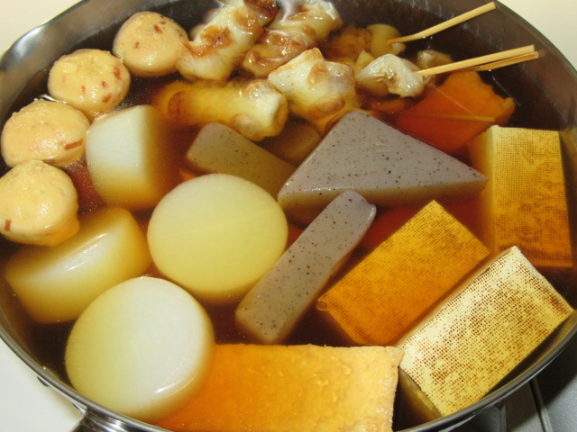 おでんの作り方と煮汁の調味料割合