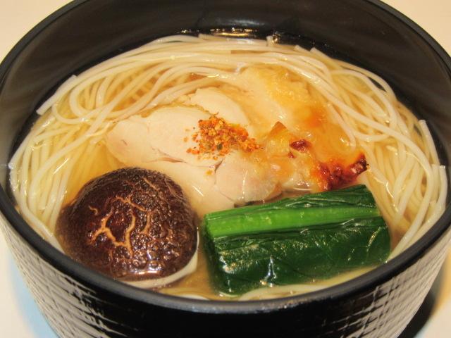 鶏にゅう麺画像
